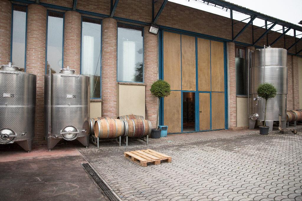 Pescaja Eingang zum Weinkeller