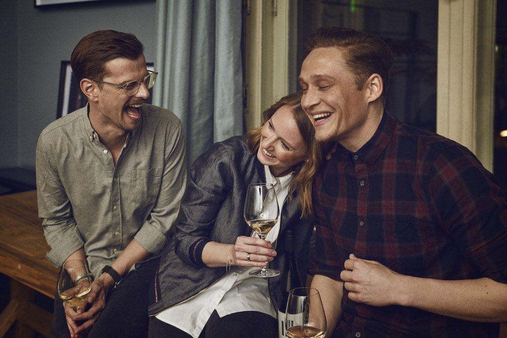 Juliane Eller mit Freunden