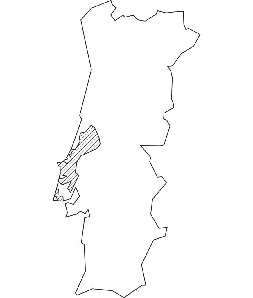 Karte Lisboa